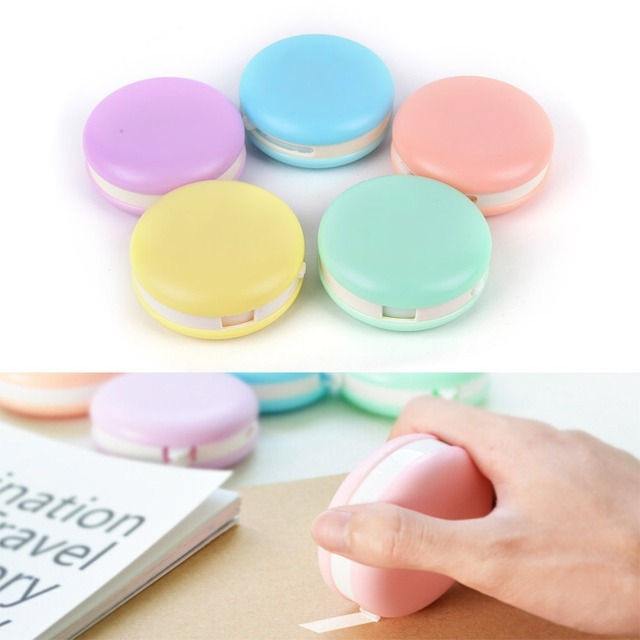 decorative office supplies. Cute Roller Correction Tape Decorative School Office Supply Stationery Candy Color Tapes Supplies N