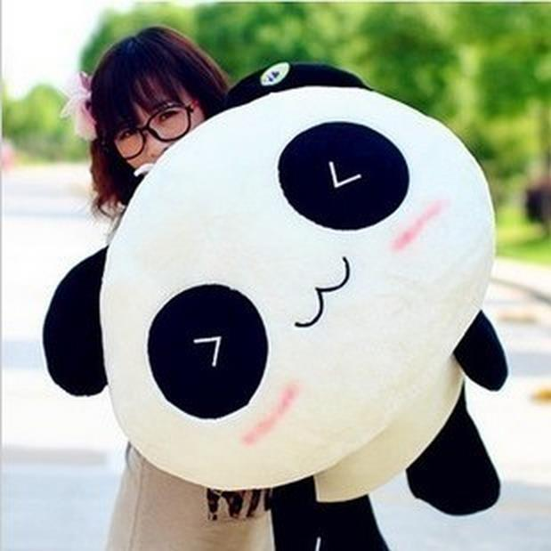 Cute Cartoon Panda Plush Toy Pillow Doll for Children gift (55cm H) Stuffed & Plush Animals Baby Toys beluga foam particles stuffed toy doll cute cartoon children s toys to give his girlfriend a gift plush doll