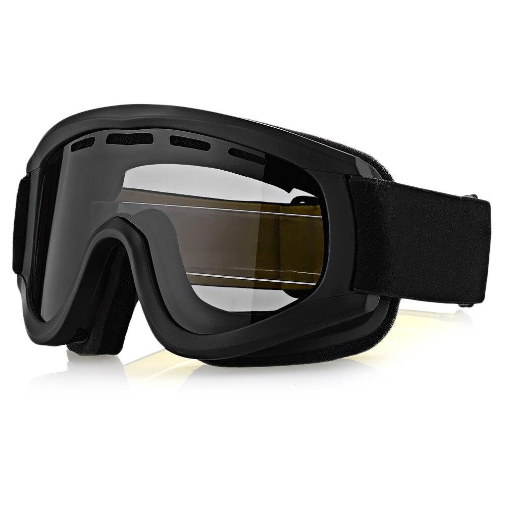 BF657 унисекс мотоцикл очки для Лыжный Спорт на открытом воздухе езда двойные линзы для мотокросса Лыжный Спорт езда восхождение Анти-туман