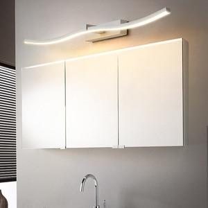 Image 4 - Современные светодиодные зеркальные фары, декоративные настенные светильники для ванной комнаты, новый дизайн, креативные зеркальные лампы для дома