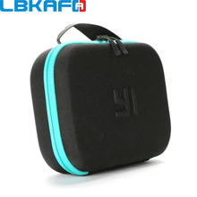 LBKAFA For Xiaomi Yi Camera Bag Shockproof Anti-dust Storage Carrying Camouflag Bag Case For Yi 4k Mijia Gopro SJCAM Accessories(China)