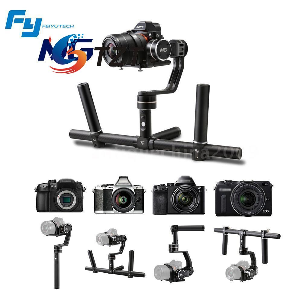 Feiyu MG V2 3 Axis Handheld Steady Gyro Gimbal Stabilizer 360 Degree for FPV DV Camera Aerial [hk stock][official international version] xiaoyi yi 3 axis handheld gimbal stabilizer yi 4k action camera kit ambarella a9se75 sony imx377 12mp 155‎ degree 1400mah eis ldc sport camera black