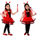 OHCOS Kids Halloween Costumes Children Party Cosplay Honeybee Dresses Lovely Baby Tutu Dress