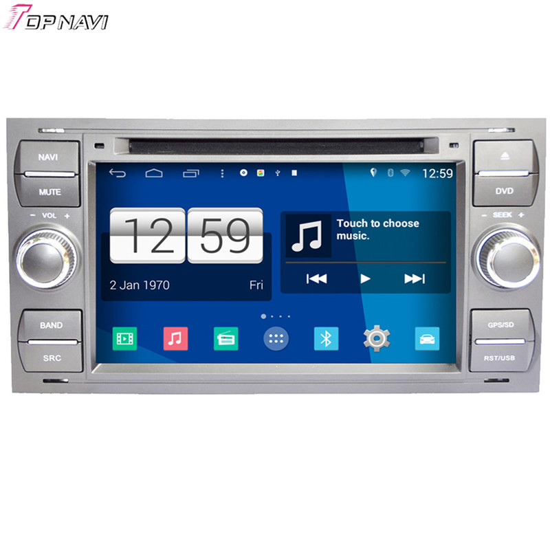 Free Shipping 7'' Quad Core S160 Android 4.4 Car DVD Multimedia For Old Focus/Mondeo With Stereo Radio GPS Mirror Link BT Wifi