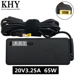 Original 20V 3.25A 65W 3pin AC Adapter charger For ThinkPad T450 T450S T460 T460S T470 T560 S440 A475 L450 L460 P40-YOGA Series