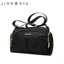 JIANXIU Brand Shoulder Bag Luxury Handbags Female Bags Designer Oxford Vintage Crossbody Bags For Women Messenger Bags 3 Colors