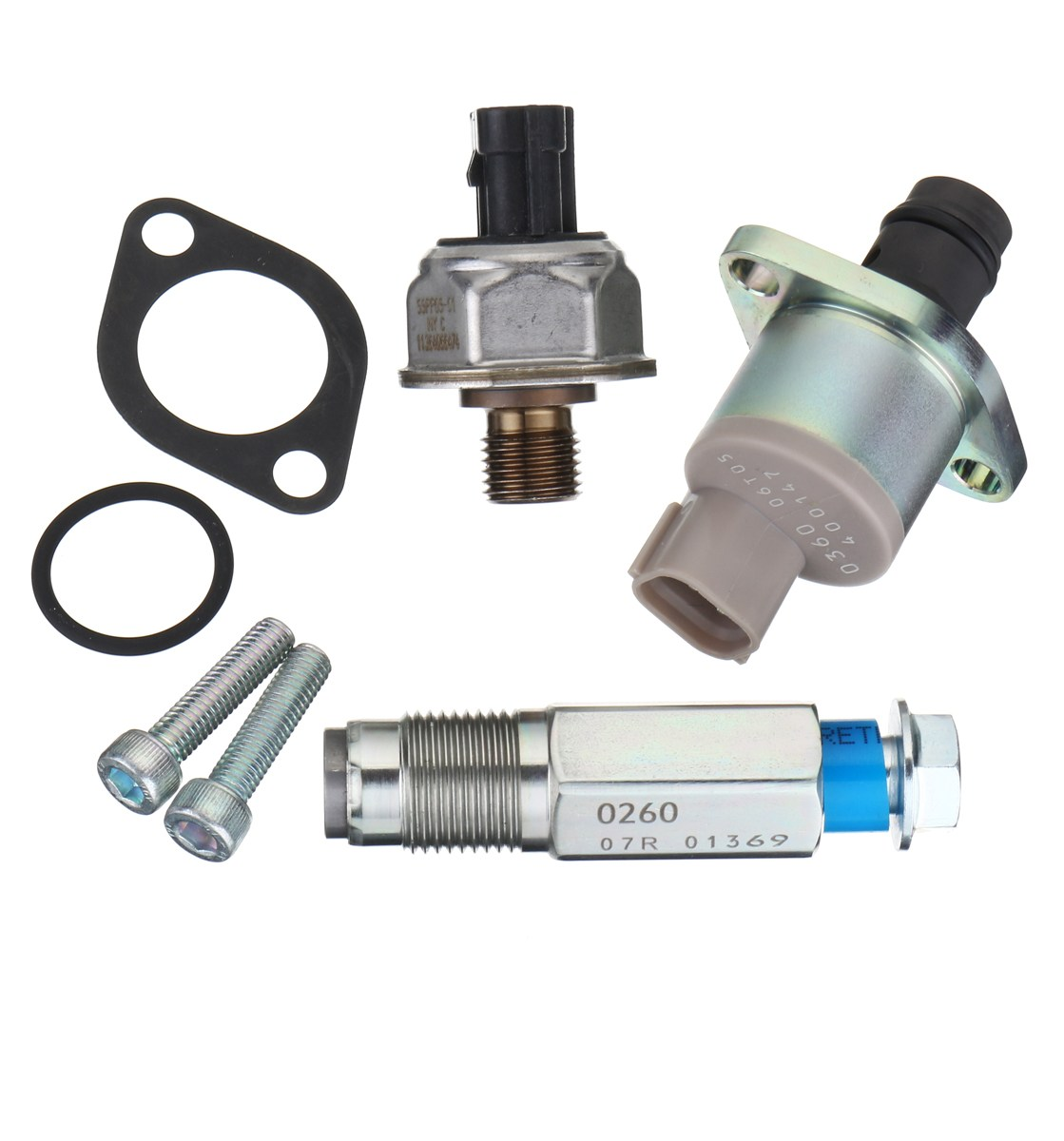 #2940090260 #55PP05-01 2.2 2.4 Fuel Pump Valve and Rail High Pressure Sensor For Ford/Fiat/Citroen/Peugeot/Land Rover Transit стоимость