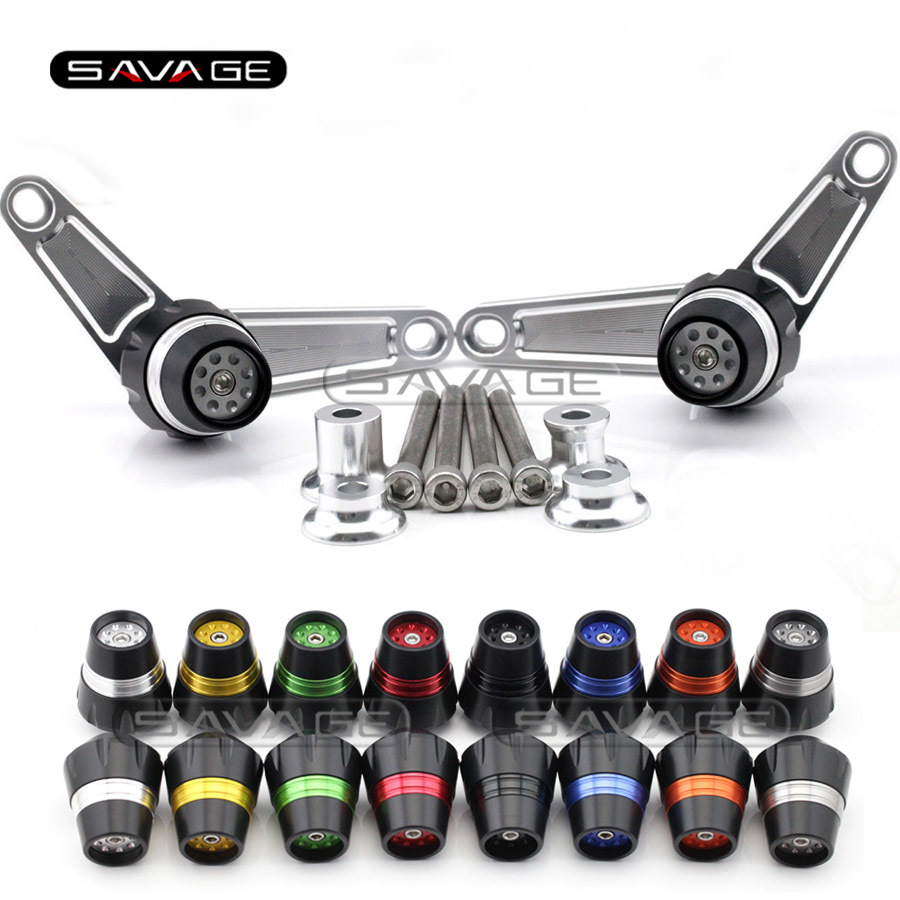 For BMW F800R 2009 2010 2011 2012 2013 2014 Motorcycle Accessories Frame Slider Crash Protector Bobbins Falling Protection