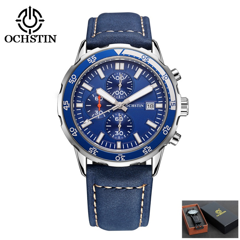 OCHSTIN Quartz Watch Men 2017 Fashion Mens Watches Top Brand Luxury Famous Wrist Watch Male Clock Hodinky Relogio Masculino classic simple star women watch men top famous luxury brand quartz watch leather student watches for loves relogio feminino