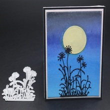 Glita Creatif flower Metal Cutting Dies and Scrapbooking For Paper card Making Flower Embossing Stamps decorative  Craft