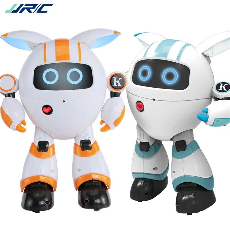 JJRC R14 KAQI-YOYO 2.4G Robot intelligent RC Programmable chanter raconter histoire brillant Robot jouet 110-130mins Uesing temps Mini Robot