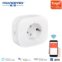FrankEver EU Smart Plug with Power Monitoring Saver Energy Wifi Voice Control Socket Work with Alexa TUYA Smart Life App