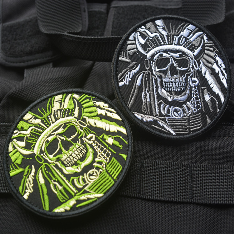 Tenkey DEATH SKULL WAR Chief devoted to INDIAN USA ARMY MORALE Military he TACTICAL SWAT ...