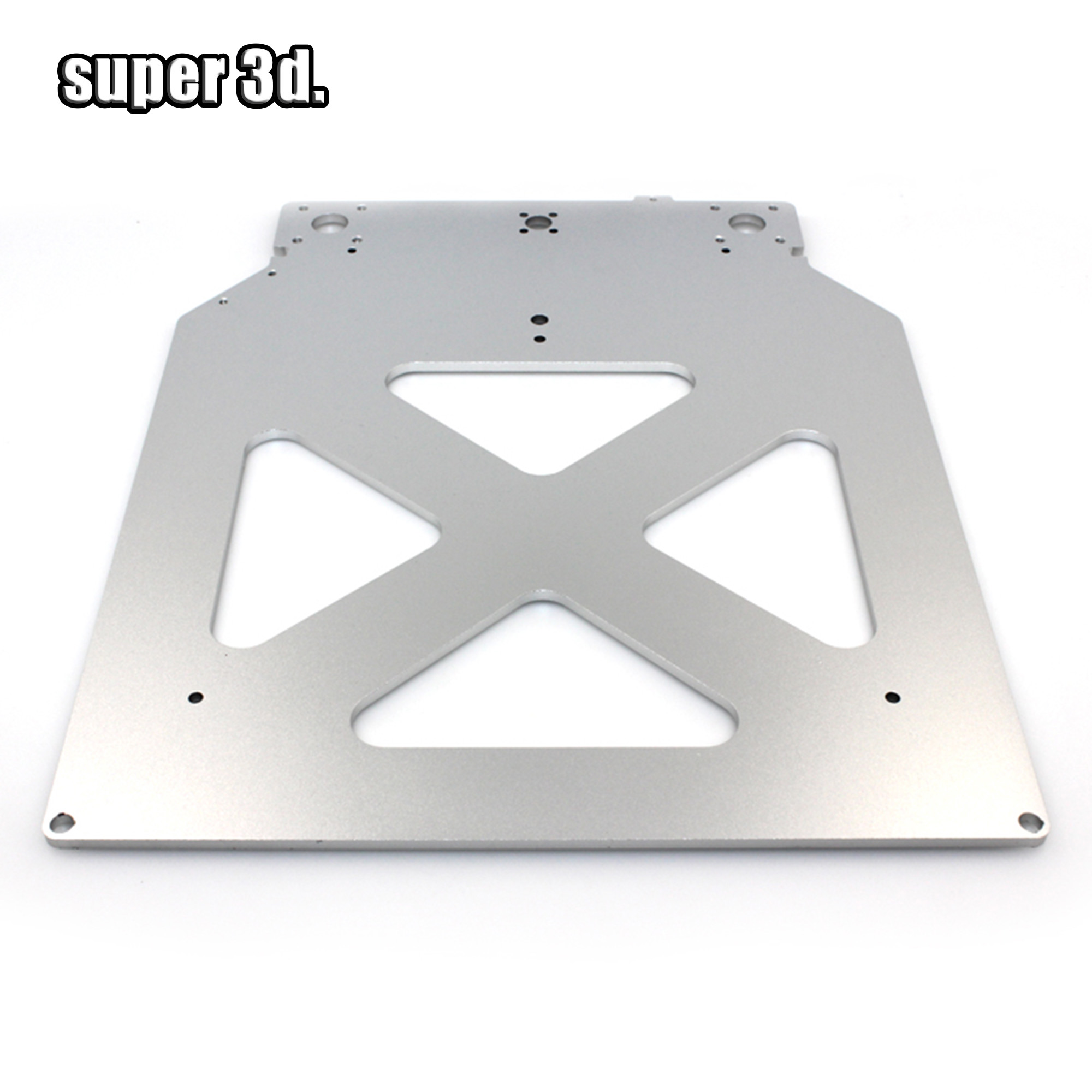 Ultimaker 2 UM2 Z Table Base Plate Platform Bracket Supporting Aluminum Heated Hot Bed Plate  For 3D Printer Parts