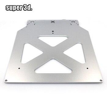 Ultimaker 2 UM2 Z настольная Базовая пластина, кронштейн платформы с алюминиевым подогревом, плита с горячей кровати для деталей 3D принтера
