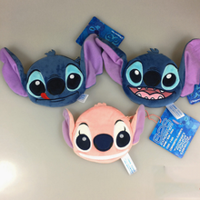 1PCS New hot Lilo Stitch Scrump Angel Coin Purse Unisex Wallet Multi-functional Kawaii Bag Cartoon Animal Plush Purse Toys(China)