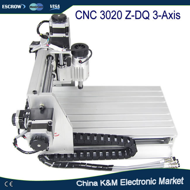 CNC 3020 Z-DQ Engraving machine 3020Z-DQ carving machine milling router work on wood pcb etc eur free tax cnc 6040z frame of engraving and milling machine for diy cnc router
