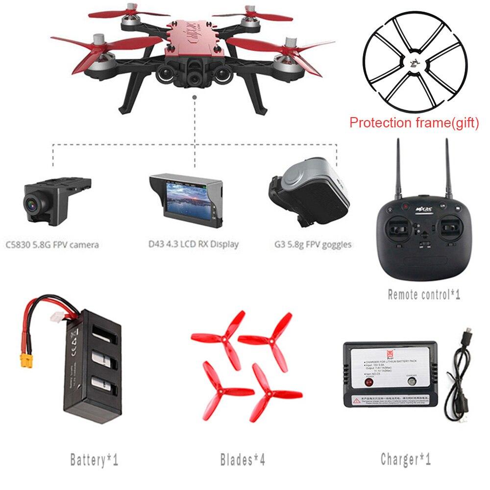 MJX Bugs 8 Pro B8PRO RC Elicottero Da Corsa Ad Alta Velocità Del Motore Brushless RC Drone Con 5.8g HD 720 p macchina fotografica Quadcopter VS H502S Dron