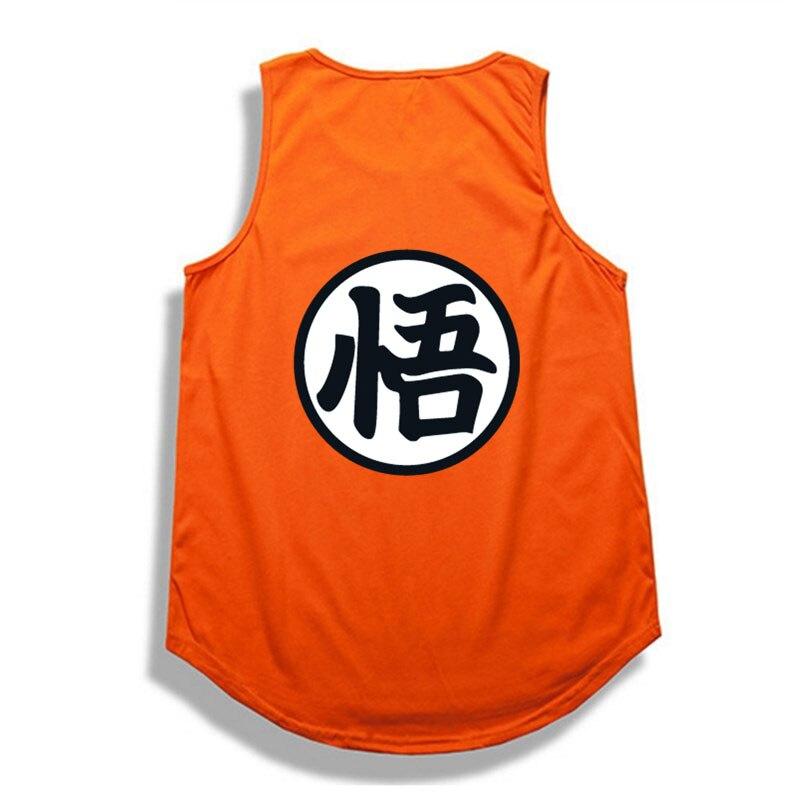 Hip hop dragon ball tank top 2017 summer bodybuilding man's t-shirt tops cosplay 3d t shirts casual cotton dragon ball z clothes-1