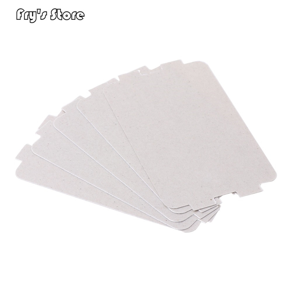 Fry's Store 5Pcs Microwave Oven Mica Plate Sheet Thick Replacement Part 107x64mm For Media MP17C-KE PJ17C-M1 MP17C-KL MP17C-KA