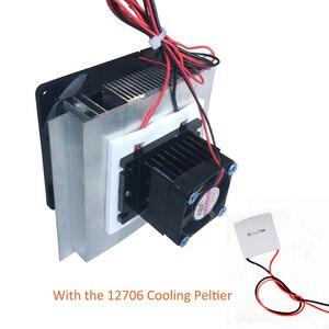 Image 1 - Kit de resfriamento termoelétrico, refrigerador semicondutor de refrigeração, componentes do computador com 12706 peltier de resfriamento