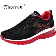 Male Athletic Shoes Air Spring Autumn Mens Running Shoes Black Blue Male Sneakers Breathable Tracking Shoes man running shoes black red white sports shoes for male spring summer athletic footwear male breathable light sneakers running