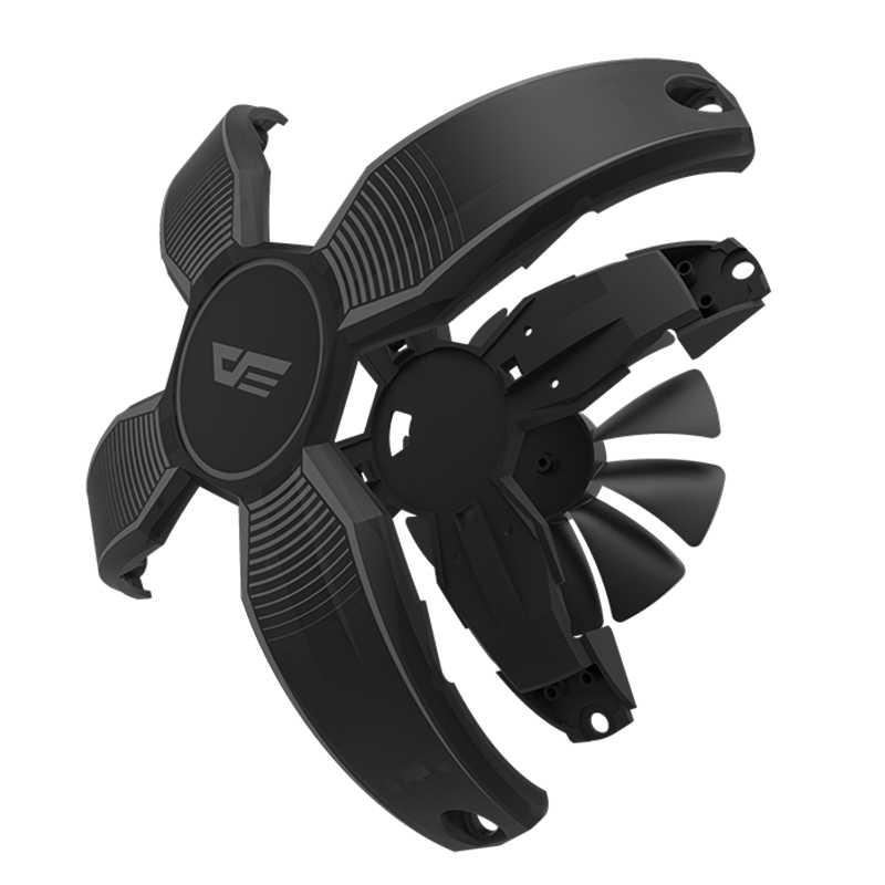 Aigo Talon 120 Mm Frameloze X Vorm Rbg Case Fan Nieuwe Aankomst Led Voor Computer Chassis Koelventilator Rustig Hoge kwaliteit Game Fan