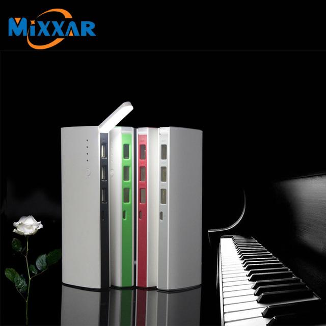Zk30 mixxar 3 salida usb 88000 mah powerbank batería de reserva móvil externa power bank cargador portátil para smartphone