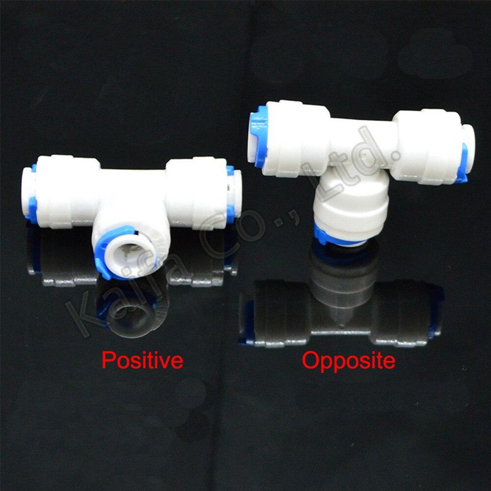 1 Stücke 1/4 Od Rohr T Typ Pe Rohr 3 Weg Montage Schlauch Kunststoff Schnell Anschluss Aquarium Wasser Filter Reverse Osmose System Rohre & Armaturen Rohrverbindungsstücke