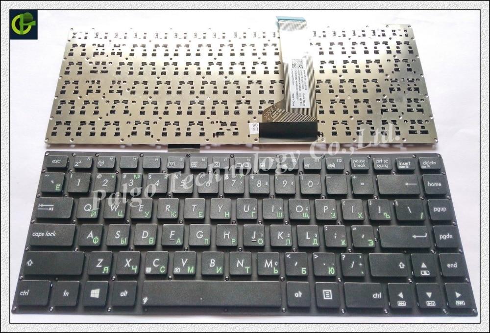 Russian RU Keyboard for Asus X402C S400CB S400C X402 F402C S400 S400CA x402CA 0KNB0-410ARU00 black laptop keyboard for asus x35 k45 n46 black ti thailand 9z n8asq 103 nsk un1sq 03 0knb0 4120ta00