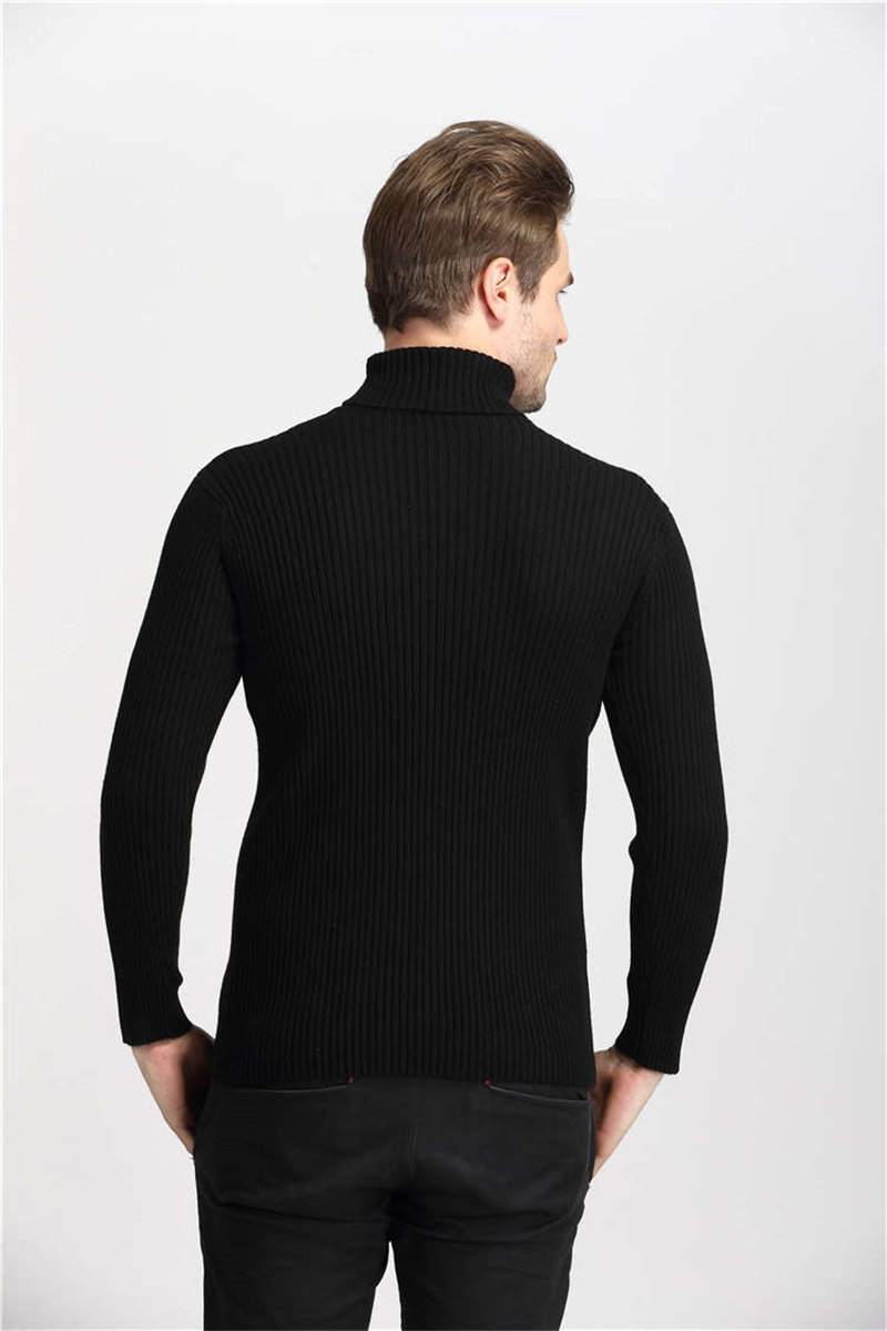 COODRONY Winter Thick Warm Cashmere Sweater Men Turtleneck Mens Sweaters Slim Fit Pullover Men Classic Wool Knitwear Pull Homme 5