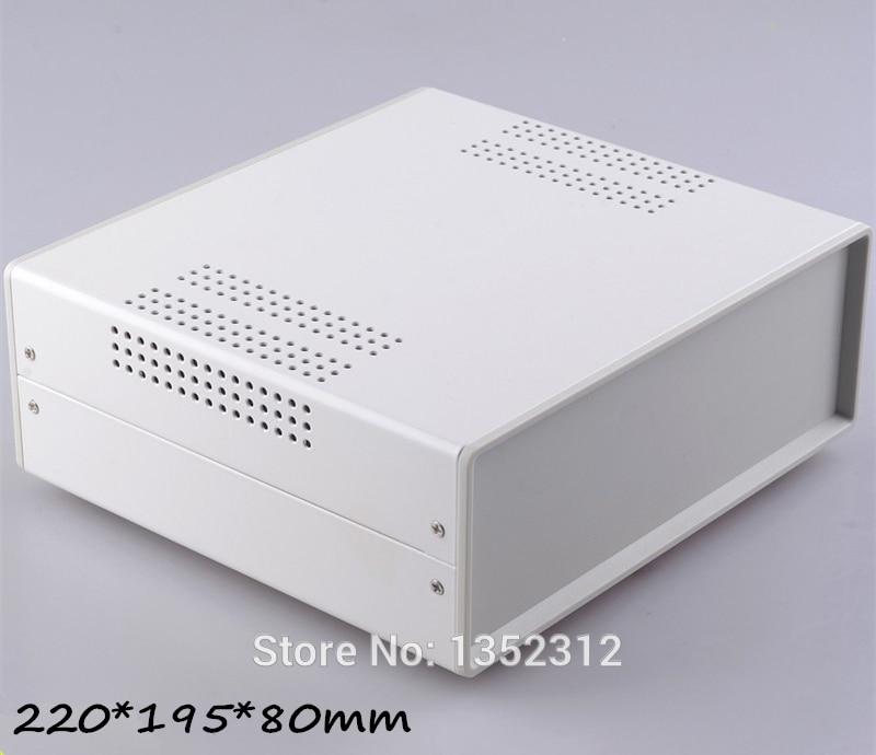One pcs 220*195*80mm iron electronics box junction enclosure outlet enclosure Iron housing project control box switch case
