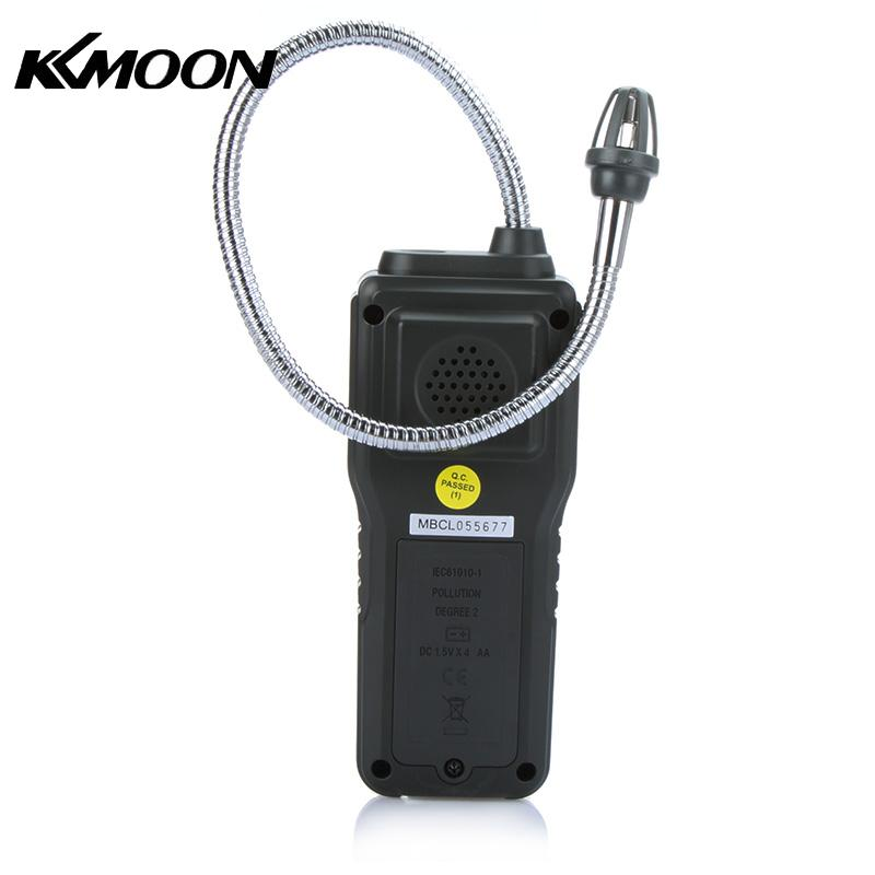 цена на Portable Multifunctional Flammable Gas Detector Combustible Gas Leak Tester 10%-40% Sound Light Alarm Adjustable Sensitivity