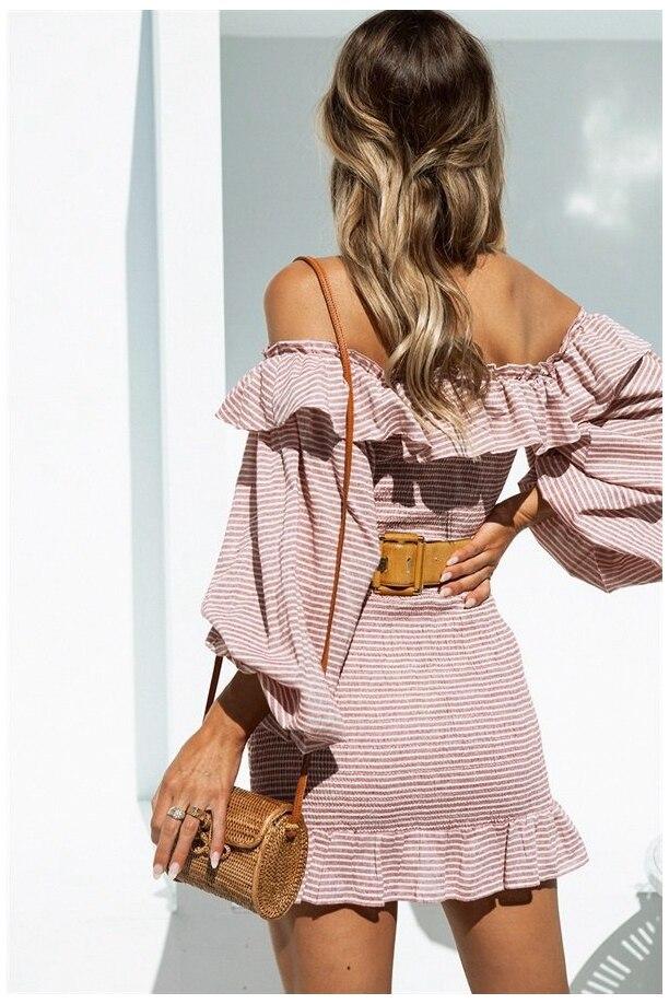 Платье с воланами | Aliexpress