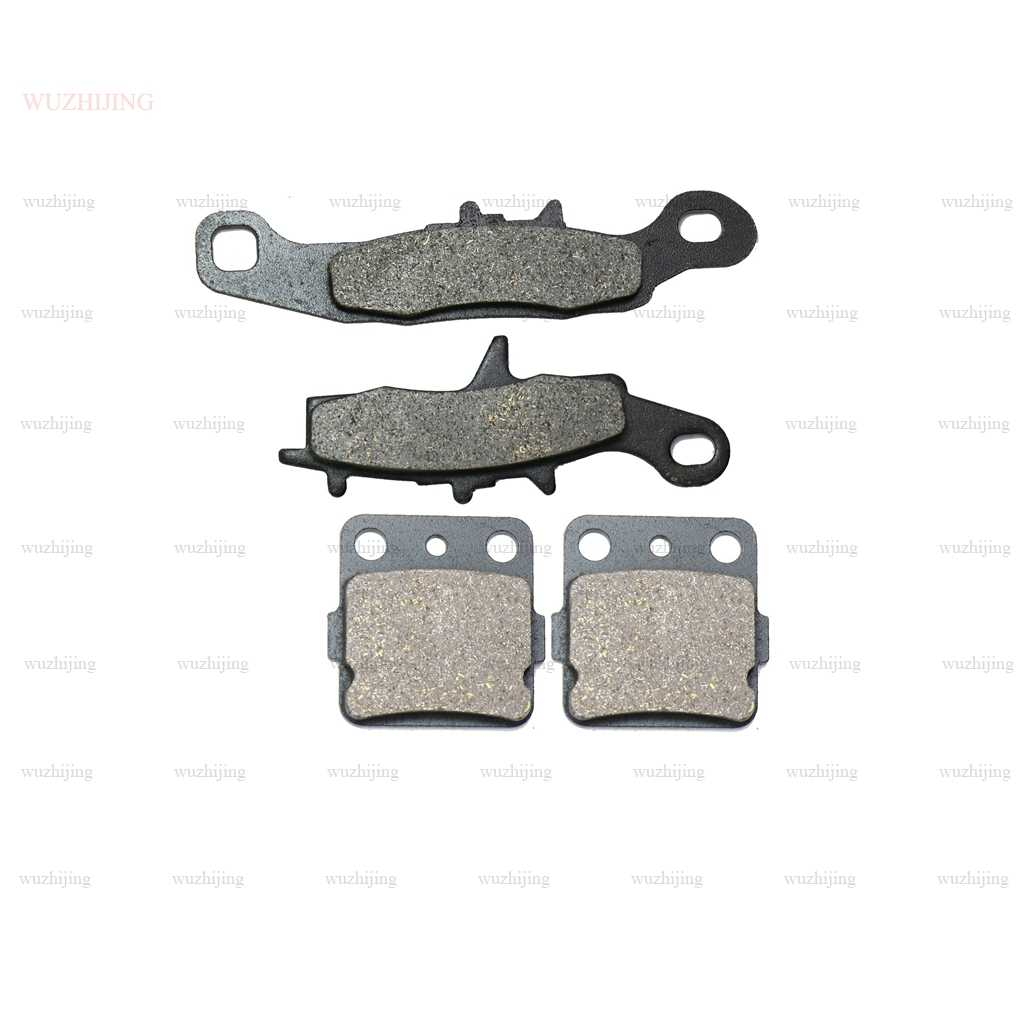 Набор тормозных колодок для Kawasaki KX 80 (97-00) KX 85 I-II A B (01-17) KX 100 (97-11) suzuki rm 100 K3 (03)