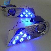 Led Front Fog Lamp Fog Light For Toyota Land Cruiser Prado 120 LC120 Accessoreis 2003 2009