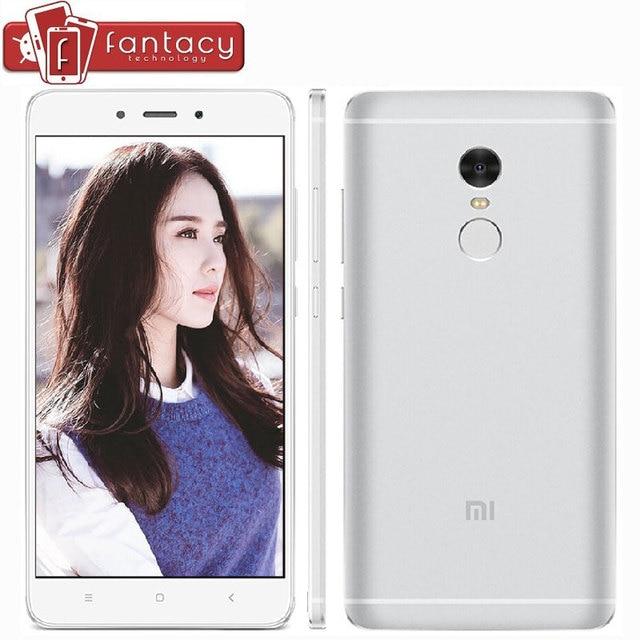 """Оригинал Xiaomi Redmi Note 4 Pro 4 Г 3 Г RAM МТК Helio X20 Дека Core 64 Г ROM Fingerprient ID 13MP 5.5 """"1080 P 4100 мАч Мобильный телефон"""