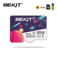 Bekit micro sd karte 32 gb 64 gb 128 gB 256 gb 16 gb 8 gb speicher karte microsd karte SDXC SDHC class 10-stick für smartphone kamera