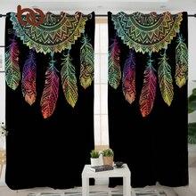 BeddingOutlet Dreamcatcher Curtains For Living Room Bedroom Colorful Blackout Curtain Window Treatment Drapes Home Decor 1pc