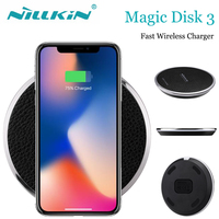 For Samsung Galaxy S8 Plus Note 8 7 S7 Wireless Charger Nillkin Qi Wireless Charger For