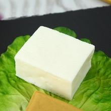050 Simulation tofu fake dump prop plastic food nutrition dish model