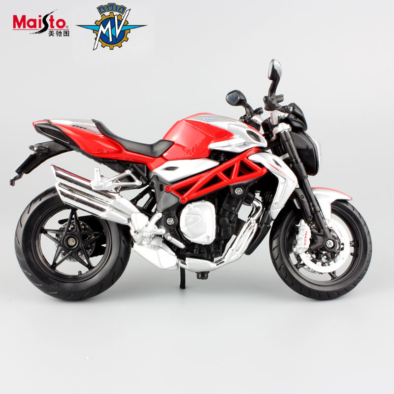 maisto 112 scale childrens mv agusta f4 brutale 1090 rr models motor bike mini race car voiture motorcycle gifts for kid toys
