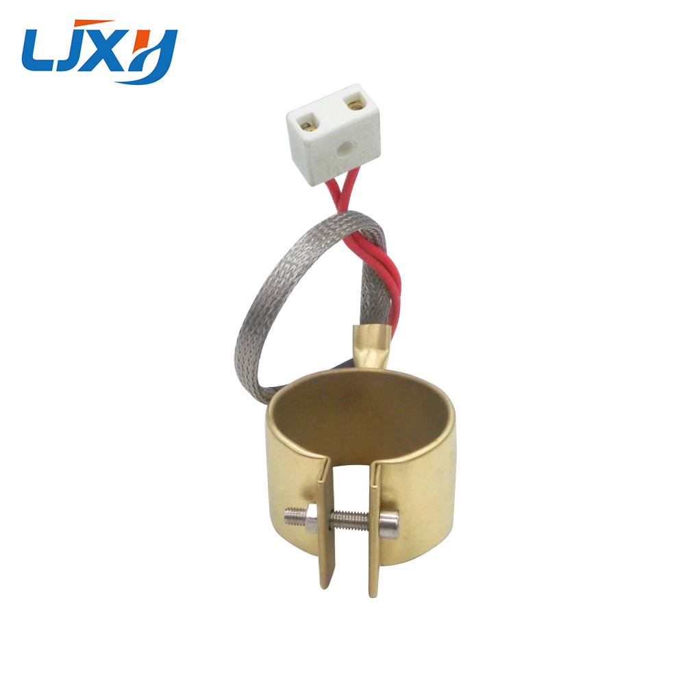 LJXH Band Heater Brass 220V For Injection Molding Machine Power 280W/350W/180W/210W 40x50mm/40x60mm/42x30mm/42x35mm 1PC