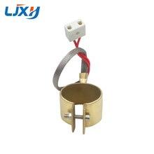 Ljxh banda aquecedor de bronze 220 v para a máquina de moldagem por injeção potência 280 w/350 w/180 w/210 w 40x50mm/40x60mm/42x30mm/42x35mm 1PC