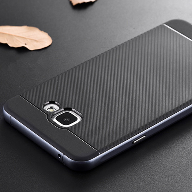For Samsung Galaxy A7 2015 Case Luxury 2 IN 1 Hybrid Hard PC Bumper Silicone Back Case For Samsung Galaxy Note 8 S8 Case Coque