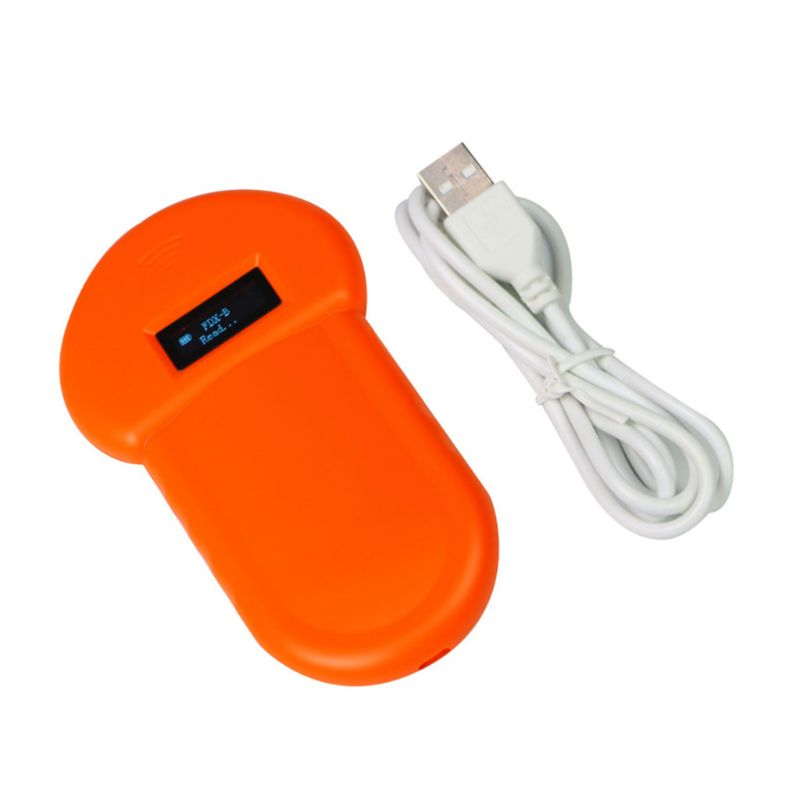 Pet ID Reader Animal Chip Digital Scanner USB Rechargeable Microchip Handheld Identification General Application  F42D