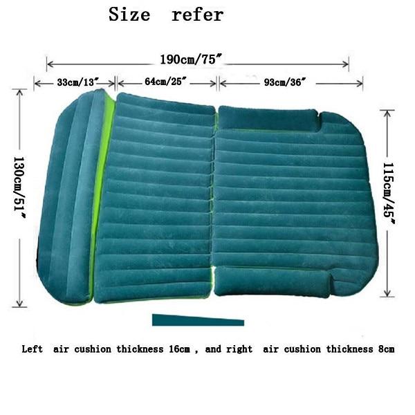 Inflatable Seat Sofa: Car Camping Inflatable Mattress