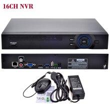 16CH NVR  ONVIF CCTV  16CH 1080P NVR /4CH 5M Network SATA  Video Recorder H.264 HDMI XMEYE P2P Clould for 1080P 5MP IP Camera