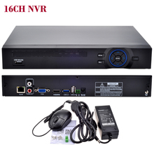 16CH NVR ONVIF CCTV 16CH 1080P NVR /4CH 5M Network SATA Video Recorder H.264 HDMI XMEYE P2P Clould for 1080P 5MP IP Camera