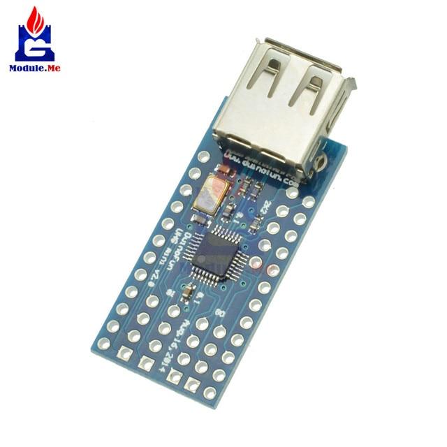 US $4 07 10% OFF|Mini USB Host Shield SPI Interface Support Google ADK For  Arduino UNO Atmega328p MEGA 2560 Duemilanove Expansion Module Board-in
